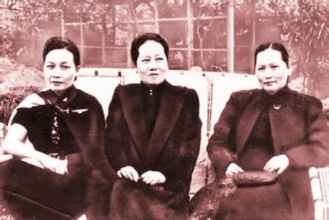 宋氏三姐妹的照片图片