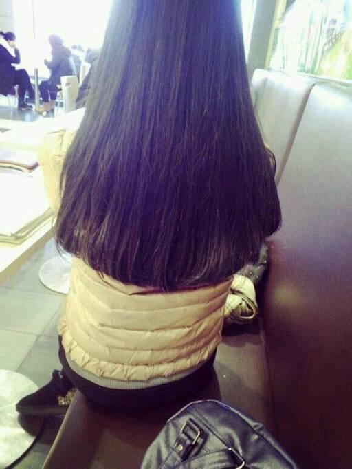 长发不等式发型图片展示图片