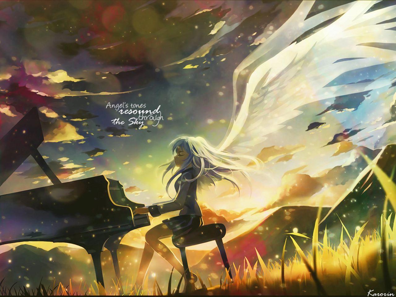 angel beats wallpaper hd
