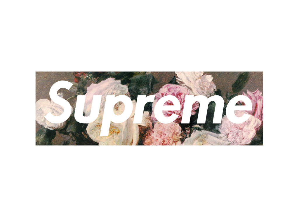Supreme桌面壁纸 on comme des garcons wallpaper