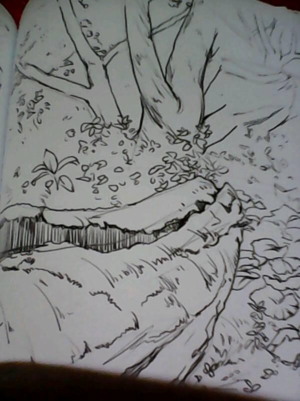 古诗彩色插图简笔画 青蛙简笔画