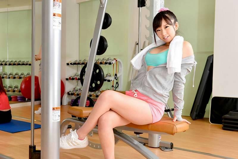 这个是谁啊 健身房美女