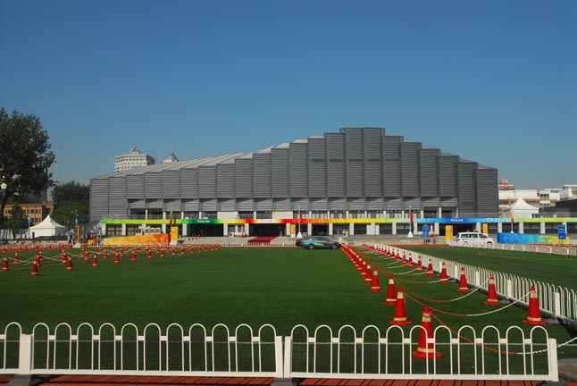 北京农业大学官网_中国农业大学体育馆(北京2008年奥运会摔跤比赛馆)位于北京市海淀区