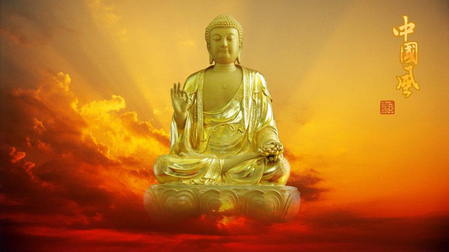 在哪里能下载到这张释迦牟尼佛佛等身像的高分辨率图片?