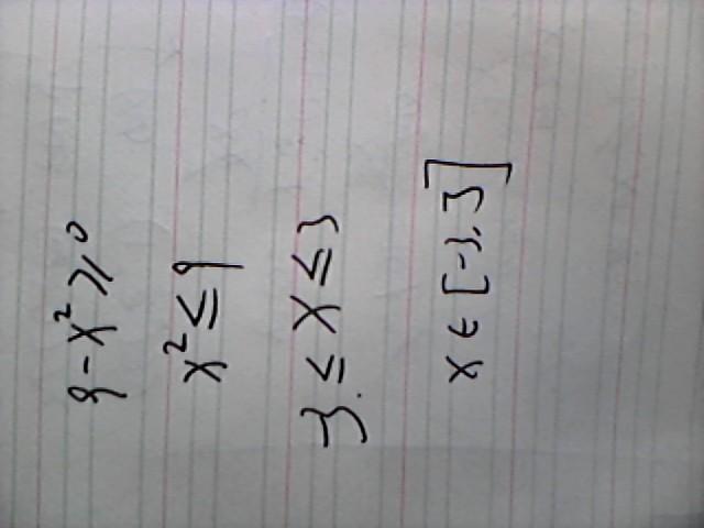√x∧2-9
