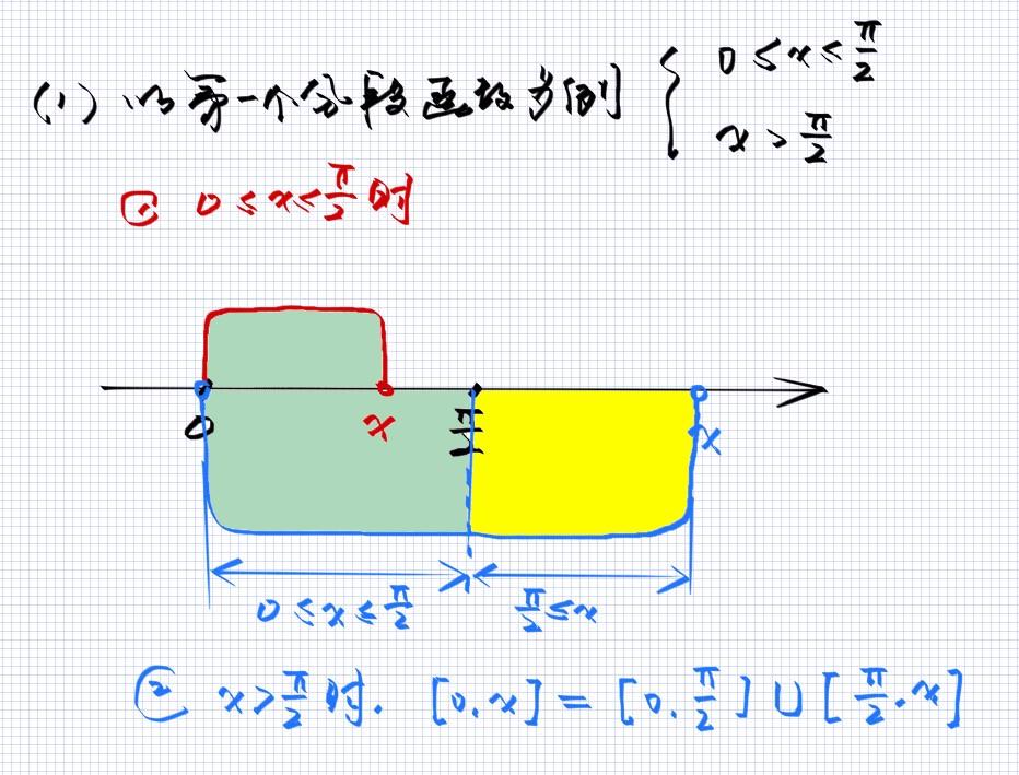 分段函数的变限积分