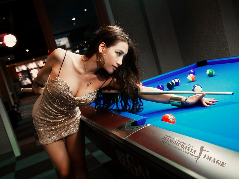 桌球美女打桌球美女打桌球女生图韩国桌球美女
