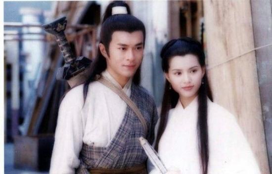 《归去来》版《新神雕侠侣》中饰演杨过和小龙女的图片