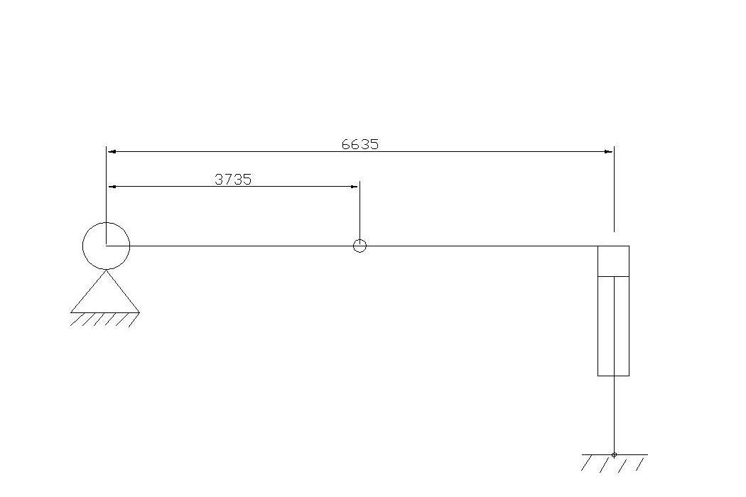 液压缸内径和活塞杆直径怎么选择?谢谢!图片