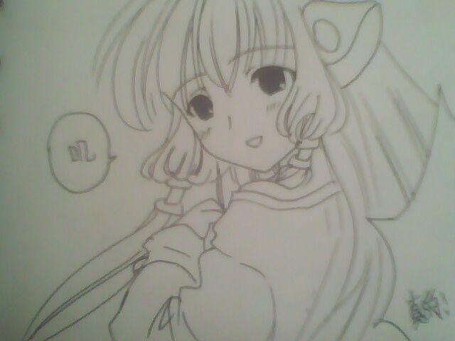 铅笔画漫画人物 铅笔画图片大全 铅笔画图片可爱简单 漫画人物女孩铅图片