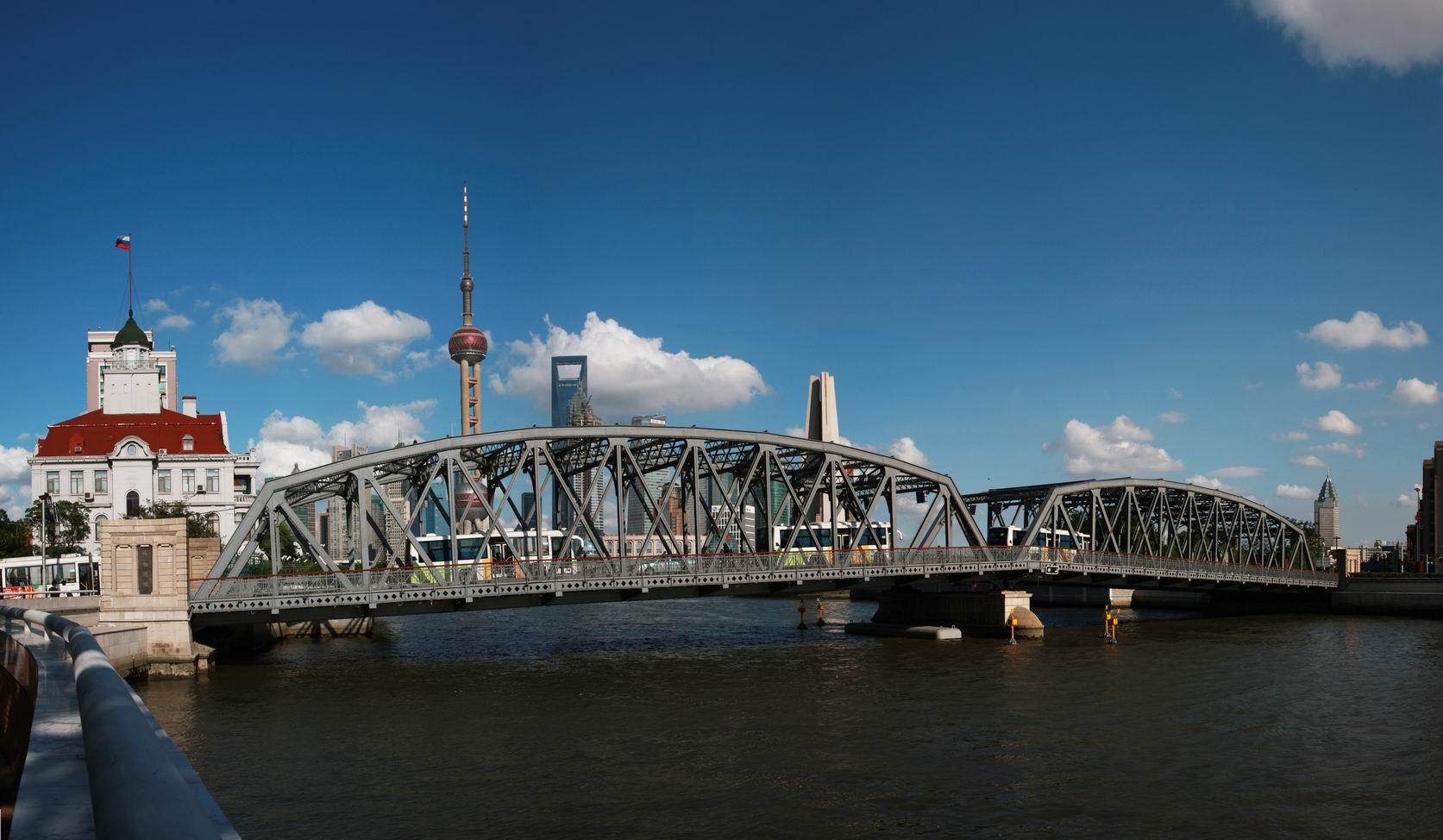 外白渡桥图片