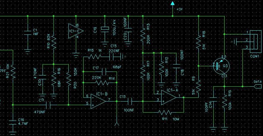 同问求一个微弱信号放大电路图片
