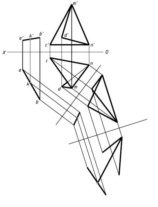 画法几何及机械制图习题2图片