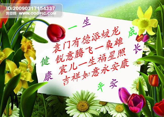 求男宝宝一百天祝福语或是藏头诗,名字:袁锐宸,放进宝宝相册里图片