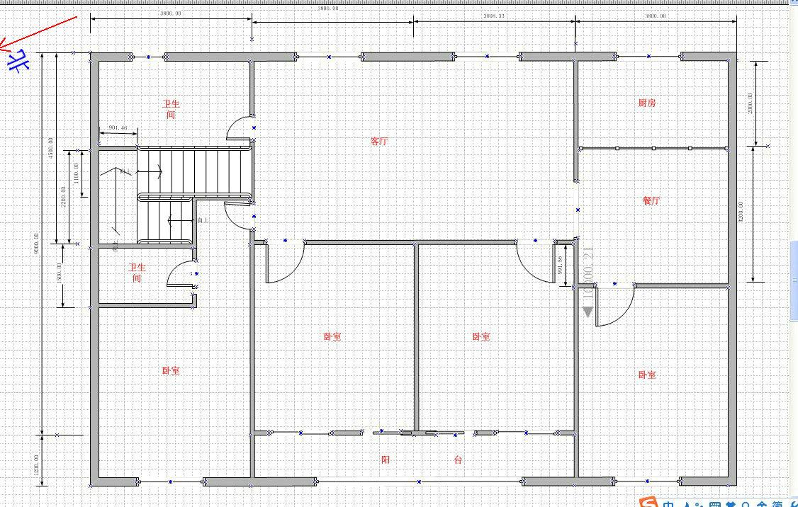 求公路边建房设计图,一楼店面,二楼住,房屋面积150平方,建三层半!图片