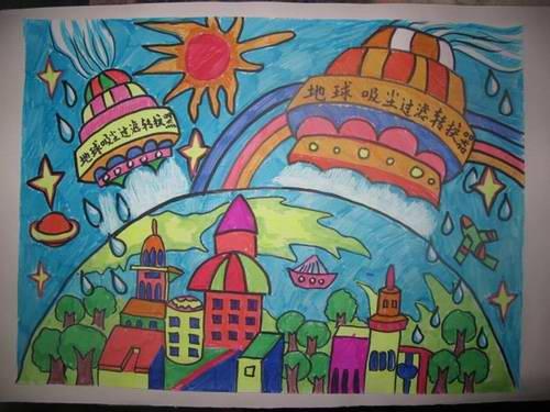 幼儿绘画作品展如何命名图片
