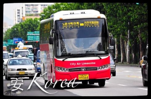 韩国6002机场大巴