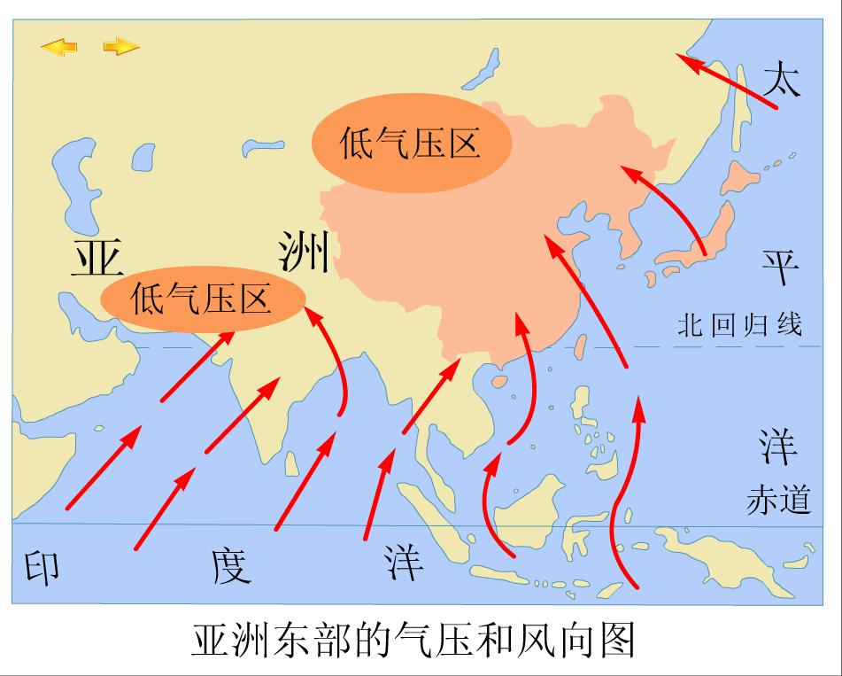 风向图_盛行风向图,风向分析图图片