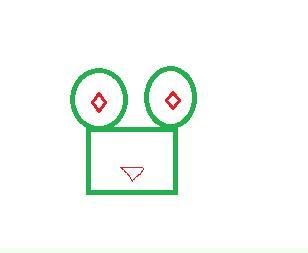 用学过的图形设计一个小动物图片