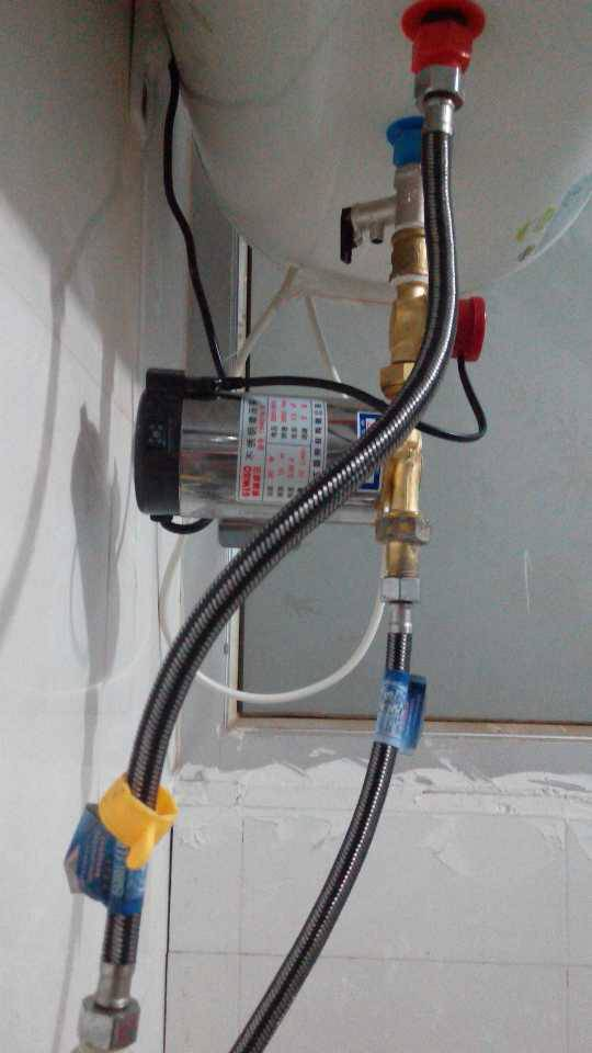 1 分钟前 郑娅|来自:腾讯微博 电热水器一般是自动上水的,有单向阀图片