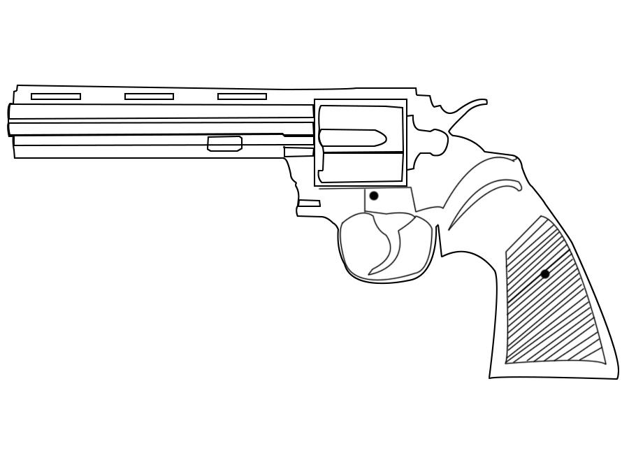 求ps画图图纸帮忙画一张中学枪线条图.左轮大神钦州市文实图片