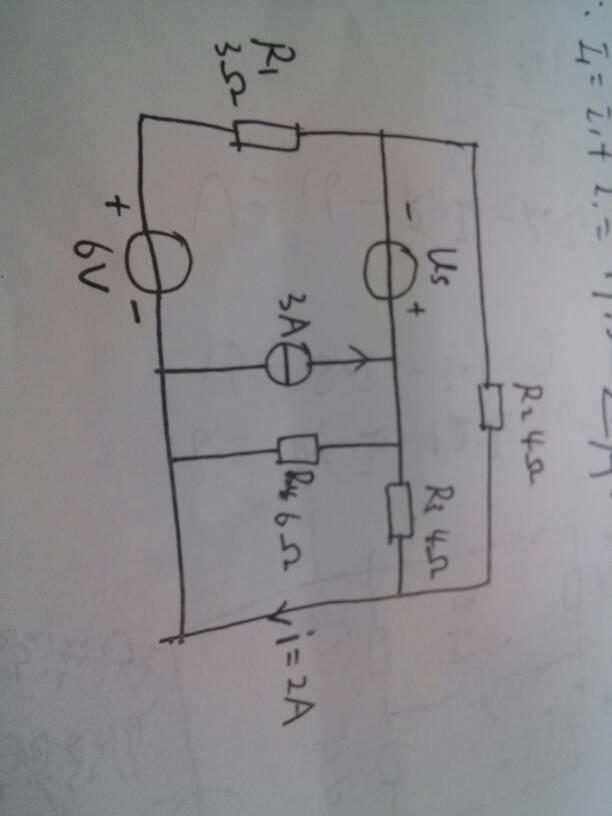 大狗愹il�.�_大学电工,用戴维宁定理求通过rl的电流il