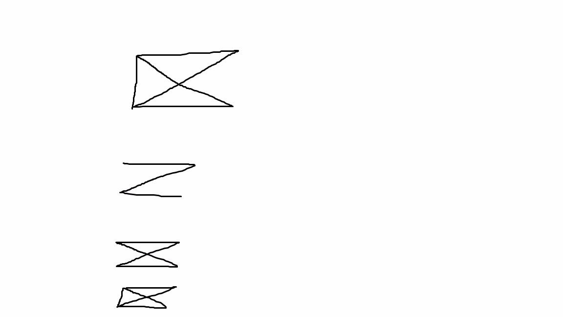 一笔画三角形 学生作业答案 zy.wenku1.com图片