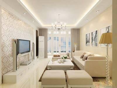 6米长10米客厅装饰图.
