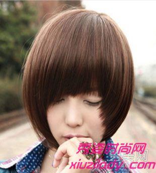 圆脸短发发型bobo头大全 圆脸短发发型图片女 圆脸短发发型图片女