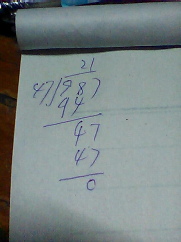 除法算式.