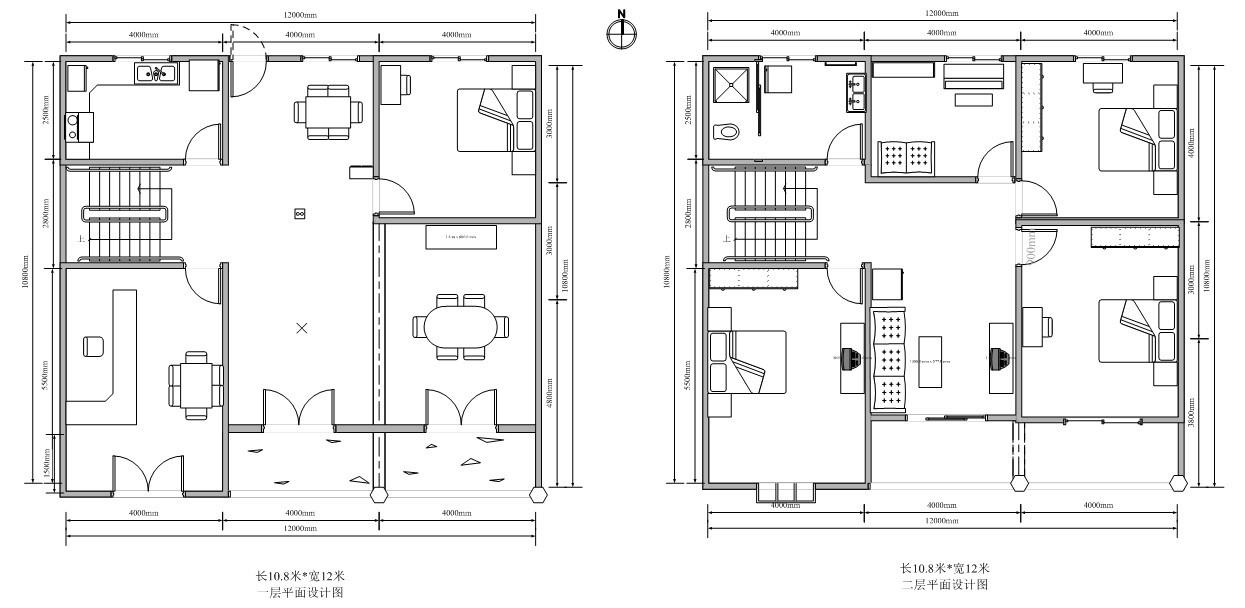 农村100平米设计图-农村百平米设计图_农村100平米自建房图_100平方米图片