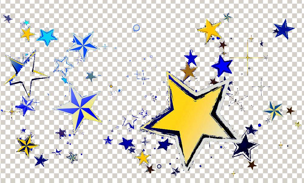 ps怎么将一颗小星星平铺满整个画布?图片