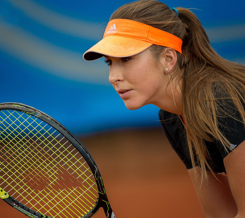 这个网球美女是谁?
