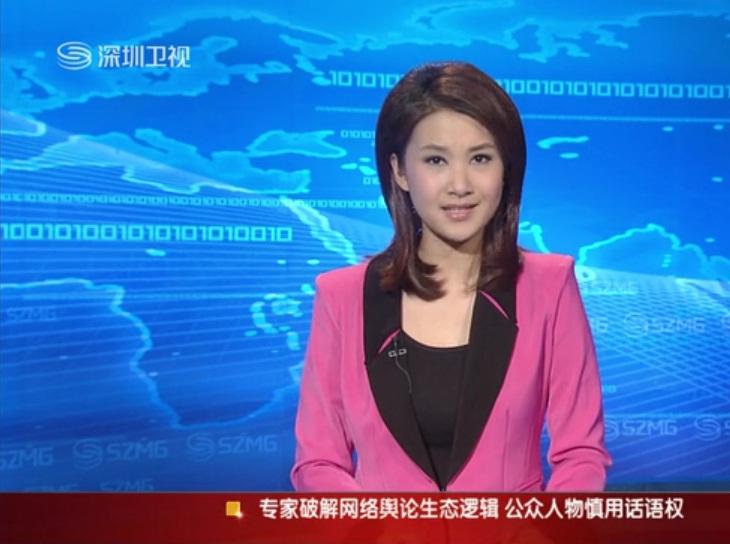 深圳卫视美女主持:请教名字!
