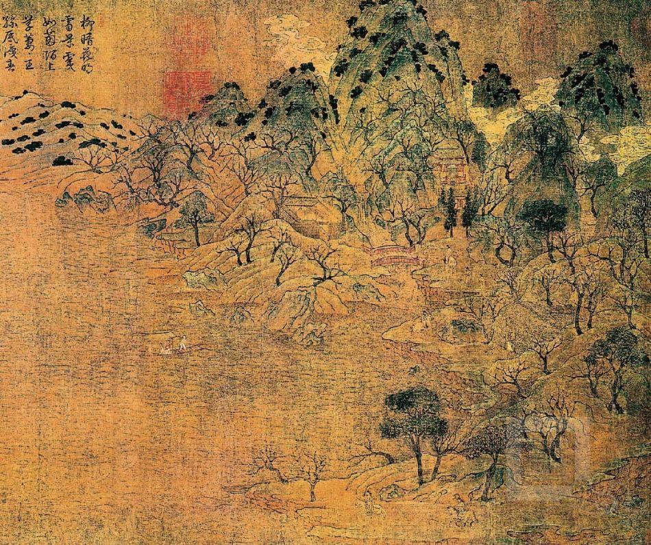 我想知道关于唐代诗人王维亲笔写的诗,我指的是毛笔字画那种的,或者有