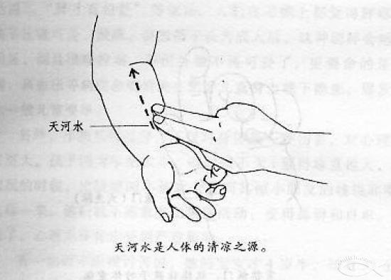 小穴好多水恩啊_推天河水,用手指蘸白酒,揉从手心到肘窝.