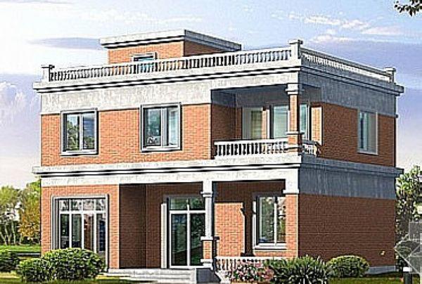 农村自建二层楼外观图图片下载 自建二层楼房屋平面图 农村自建二层