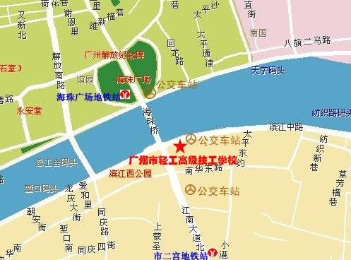 湖南省益阳市高级技工学校的8,学校地图图片
