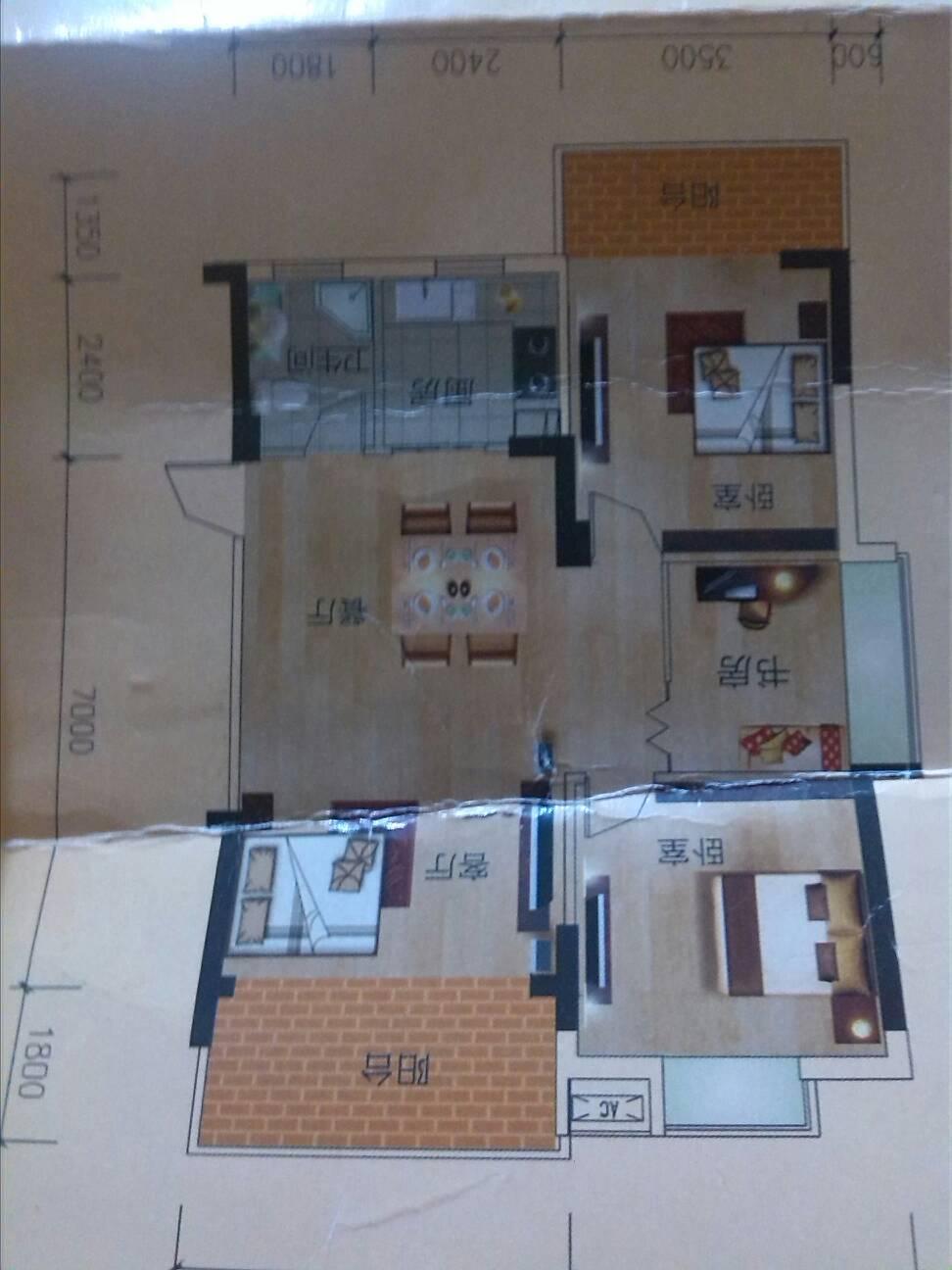 设计图-60平方自建房效果图-60平方米房子设计图-自建60平方房子设计图片