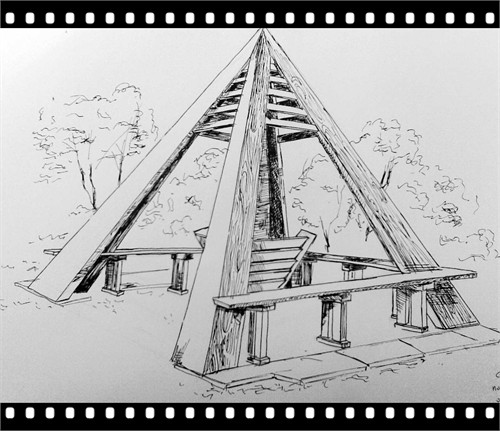 求速写中竹子的画法,线描,有用必好评,没用不理你.图片