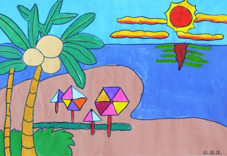 五年级优秀绘画作品