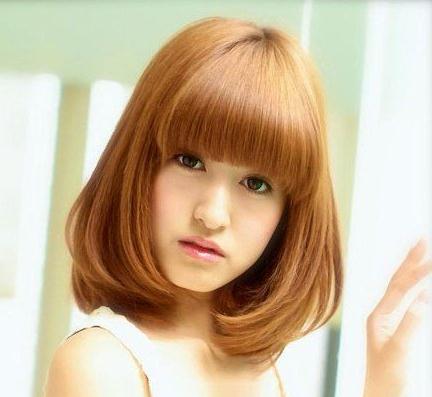 跪求内扣梨花头的发型美图~~还有头发一般多可以弄内扣梨花头吗?图片