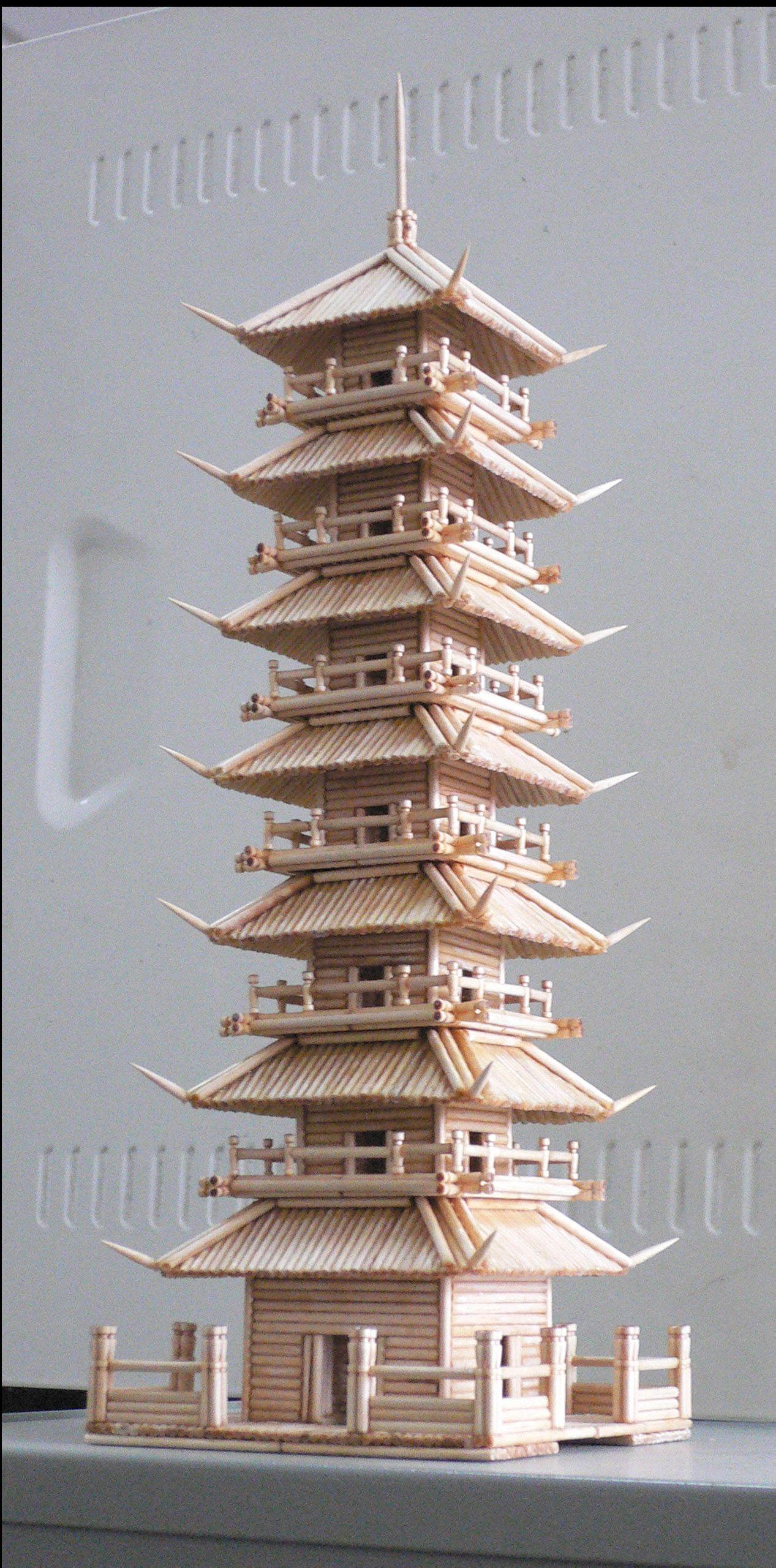 手工制作模型建筑
