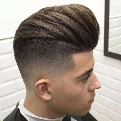 婚纱照中男士应该选择什么样的发型?图片