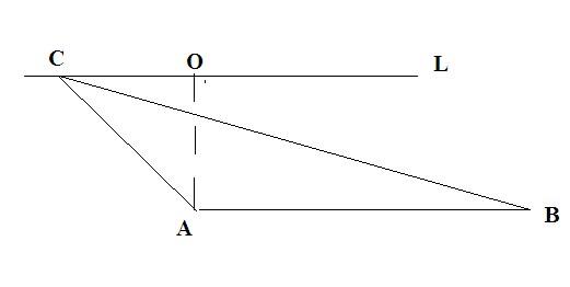 怎样画一个面积为5的钝角三角形图片