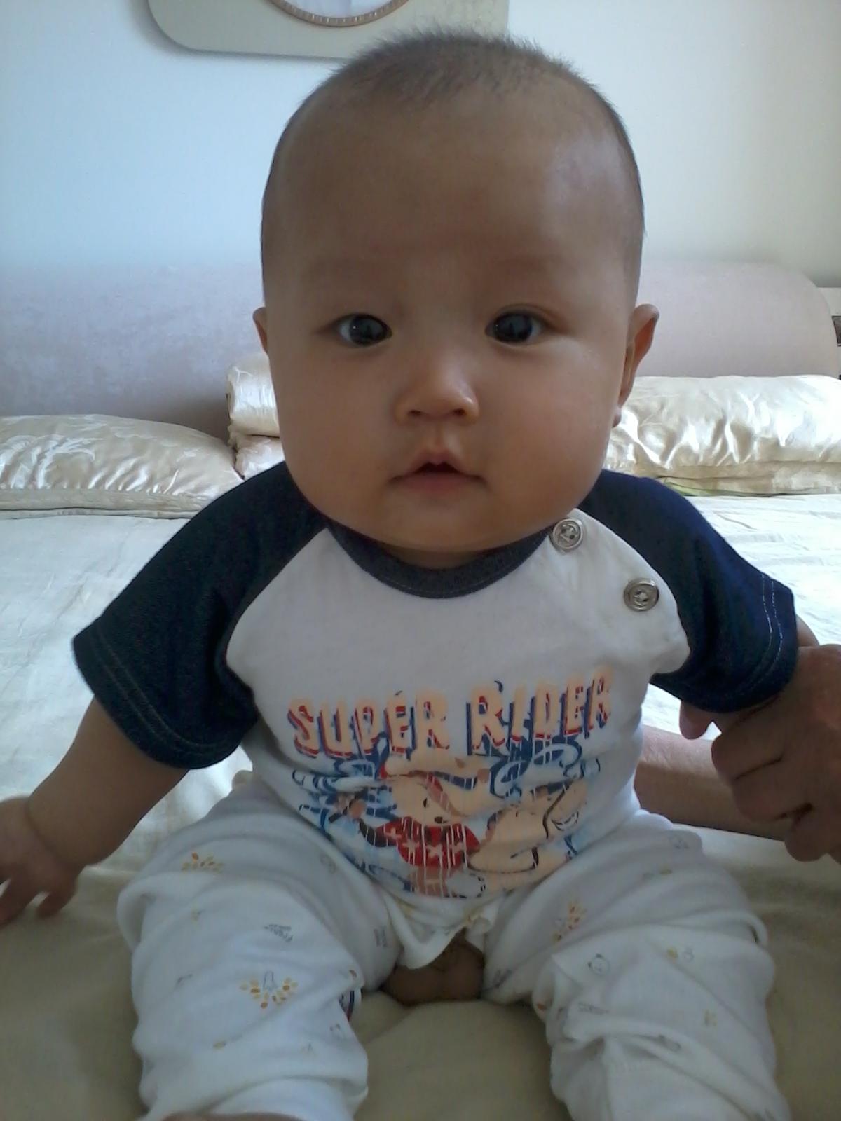 四个月宝宝图片