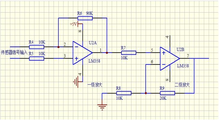 lm358放大电路 lm358 lm358放大电路图图片
