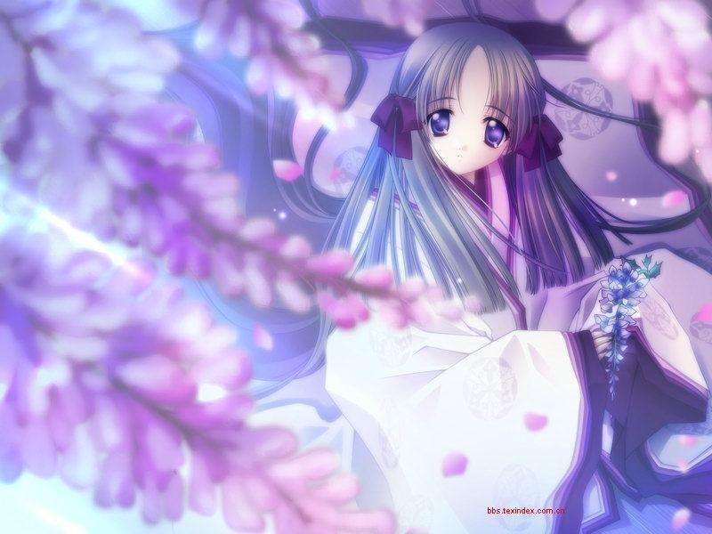 有一张动漫图就是一个女的穿着透明的衣服全身是湿的只能看见后背图片