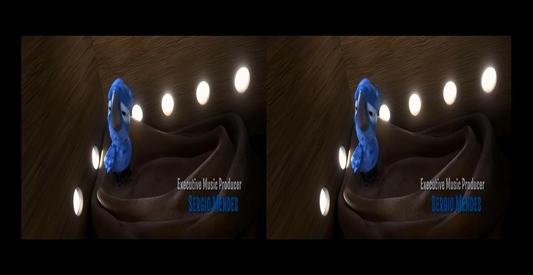 载的电影出现左右两个相同的画面怎么回?