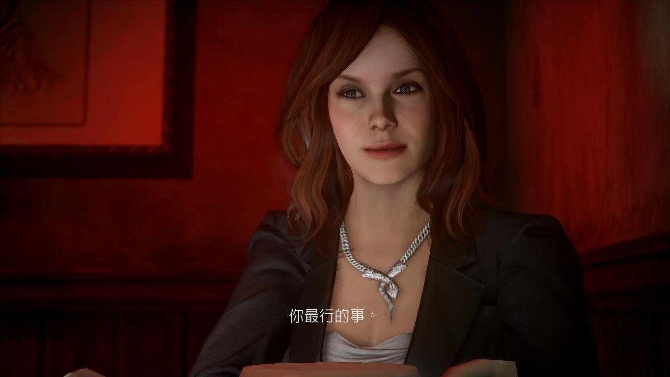极品飞车16亡命天涯游戏中这个女主角叫什么名字?跪求
